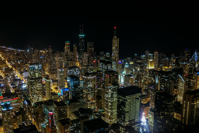City Lights // Chicago at Night