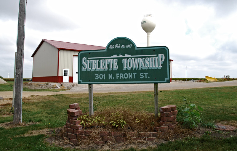 Sublette Township Hall