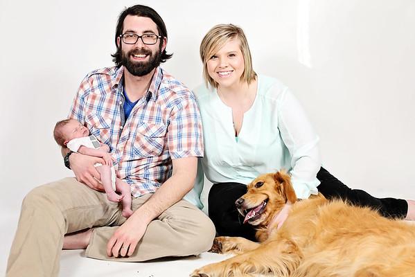 Pecek Family Spring Portrait Session