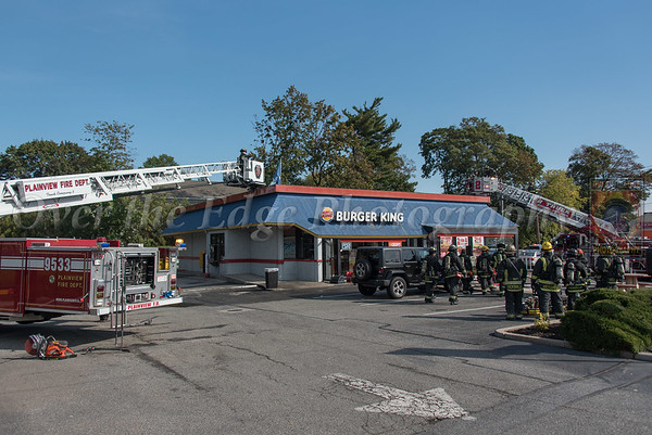 Syosset Building Fire 10/07/2017
