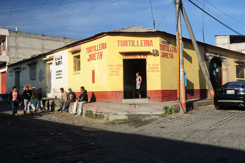 Tortilleria located in front of Casa Argentina