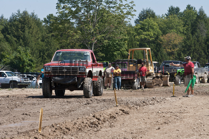 Mud Bog, Tuff Truck, Autocross and ATV Racing at Broome-Tioga Sports Center, Sunday, August 26, 2012
