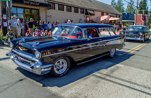 Set five: the Tom Stewart Memorial Classic Car Parade 2018