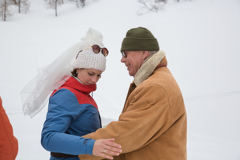 Peter and Noora Wedding - Grands Montets