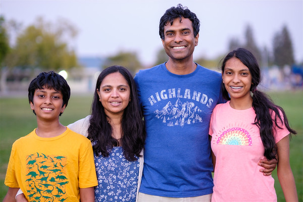 2021 Vidhya and Family