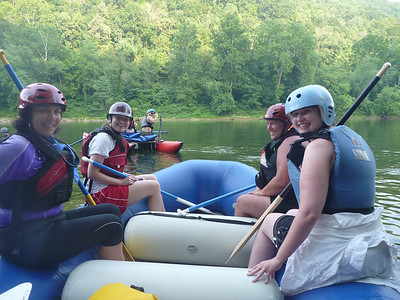 Lower New Cat and Raft 7.8.12