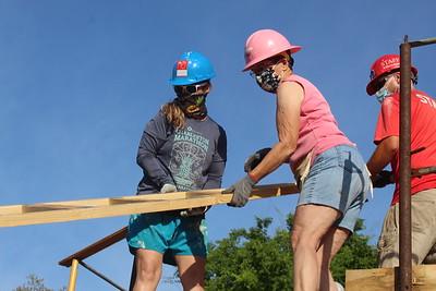 Construction Volunteers: 4-13-2021