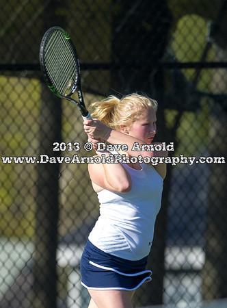 4/24/2013 - Girls Varsity Tennis - Needham