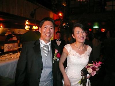 Tokyo, Bob &  Mina Wedding reception