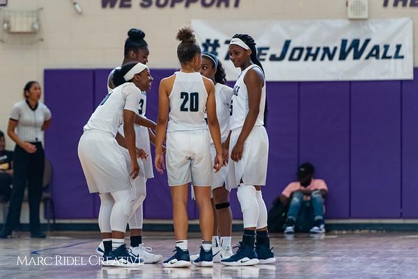 Heritage women's basketball vs St. Fances. John Wall Holiday Invitational championship game. December 29, 2018. 750_0046