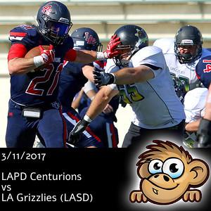 2017-03-11 LAPD Centurions vs LA Grizzlies (LASD)