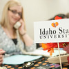 The I Love ISU Campaign held their annual call center event in the Student Union Building.
