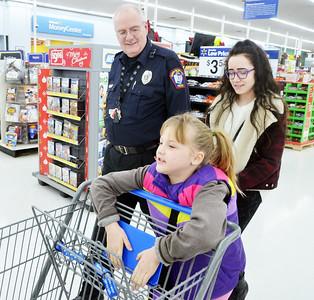 Shop with a cop at Walmart 12/19/15