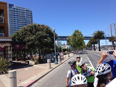 Stanford Ward Bike ride to SF