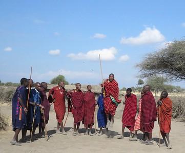 Maasai Village: August 2019