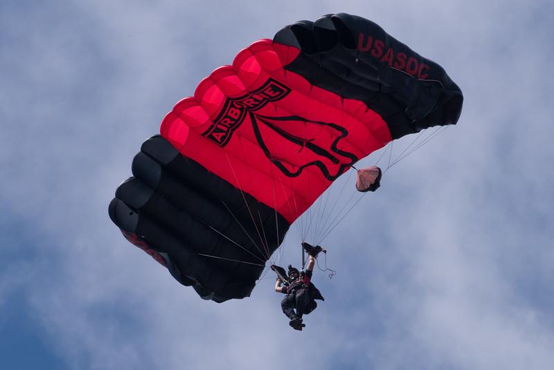 Black Daggers Parachute Demo team