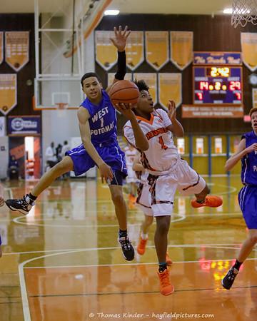 Boys Frosh Basketball v West Potomac 1/21/20