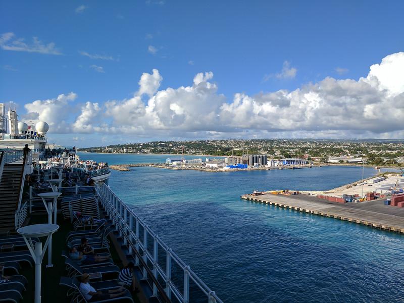 Bye-bye Barbados