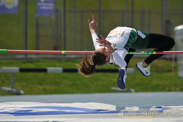 Women's High Jump - 2013 Hillsdale Gina Relays (Day 2)