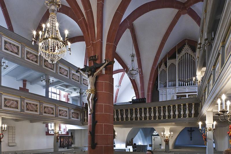 St. Niklas, Ehrenfriedersdorf, Blick nach Südwesten