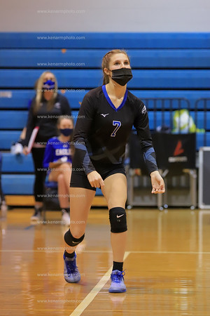 East Bladen 2020 South Columbus varsity volleyball