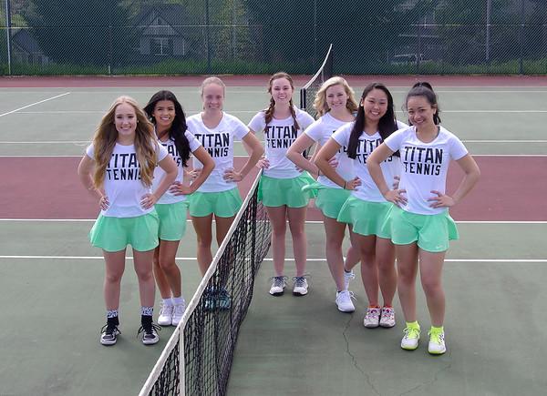 West Salem Girls Tennis 2017
