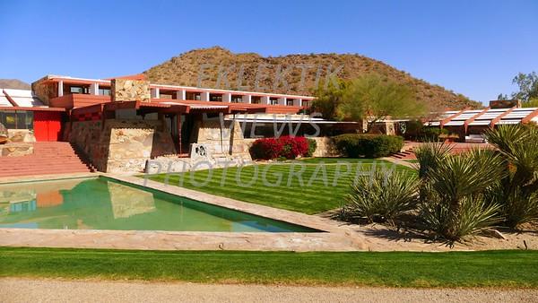 Frank Lloyd Wright Taliesin House Scottsdale AZ