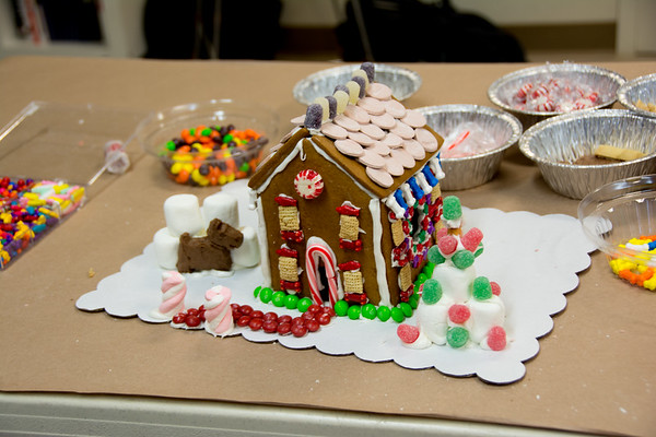 Gingerbread Houses - MHS Staff 2017