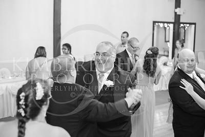 Bridal Party Dance Reception- Lynn Segarra & Todd Roselli Wedding Photography- Shaker Farms Country Club- Westfield, MA New England