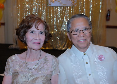 Mer and Lauren Hidalgo 50th Wedding Anniversary