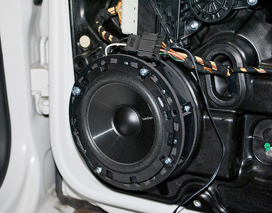 2011 VW Golf 2.5L Four Door Rear Speaker Installation - USA