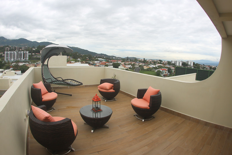 Enjoy the great outdoors from your private rooftop terrace