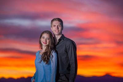 Julia & Colin Engagement on the Salt Flats