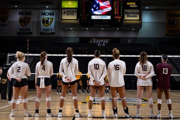 Fordham @ VCU Volleyball 10.13.19