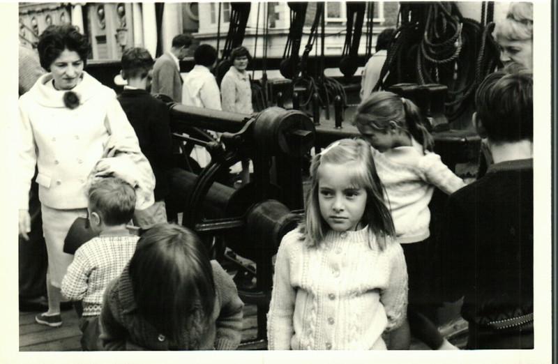 Janice at the Cutty Sark