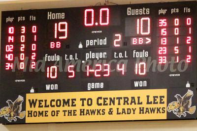 Girls Basketball, Danville vs Central Lee 12/6/2013
