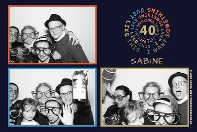 Sabines Birthday