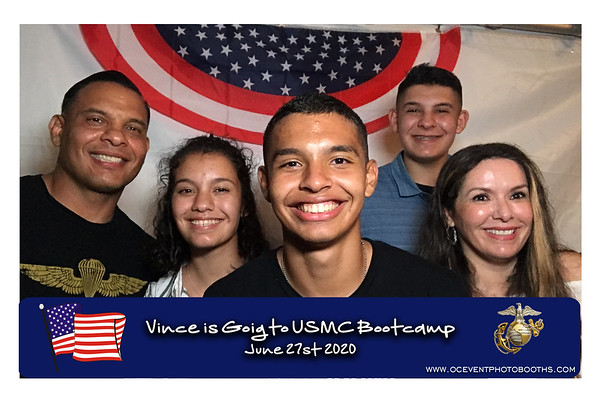 Vince Going to USMC Boothcamp! 06/27/20