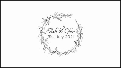 31.07 Ash & Glens Wedding