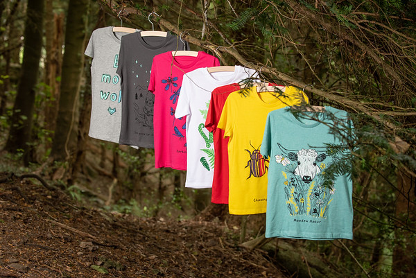 Brother Wolf T-shirt photographs
