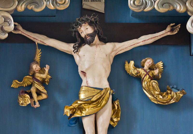 Nördlingen. St. Georg: Hochaltar, Christus