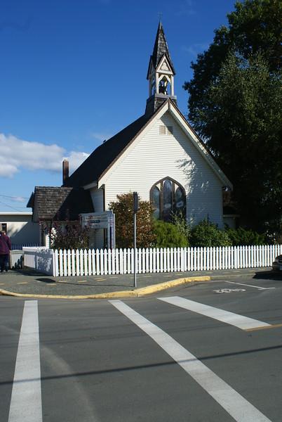 Chemainus Church - Fall 2010