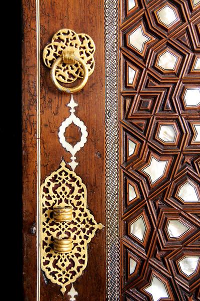 Doorway at Hagia Sophia Tombs