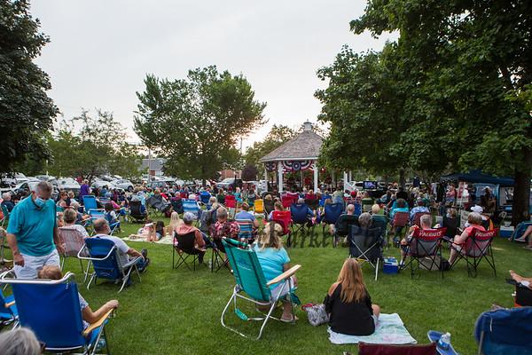 2020-8-13 All Summer Long Hampton Falls Bandstand
