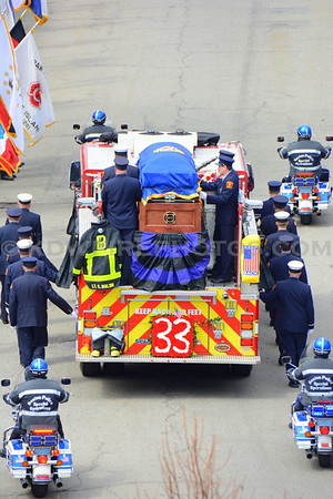 Boston, MA LODD Funeral - Lt Edward Walsh - 4/2/14