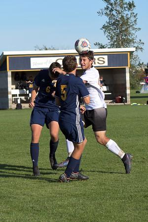 Mt. Pleasant vs Bullock Creek soccer
