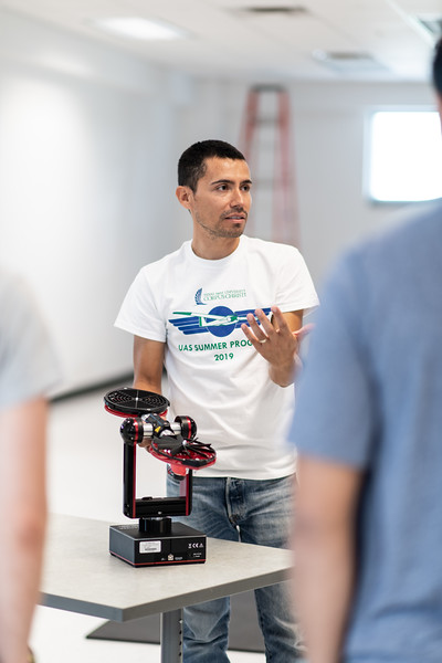 Dr. Luis Garcia presents a drone software development tool.