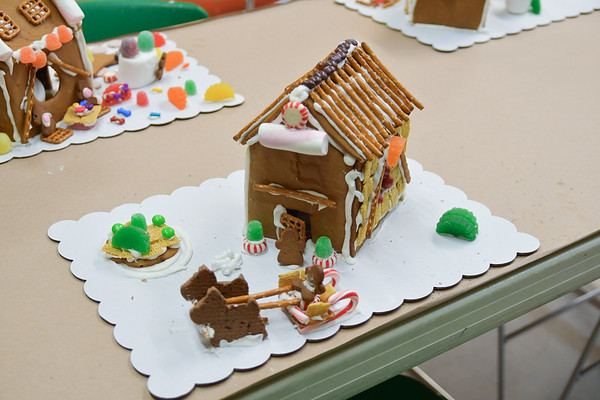 Gingerbread Houses - 2018