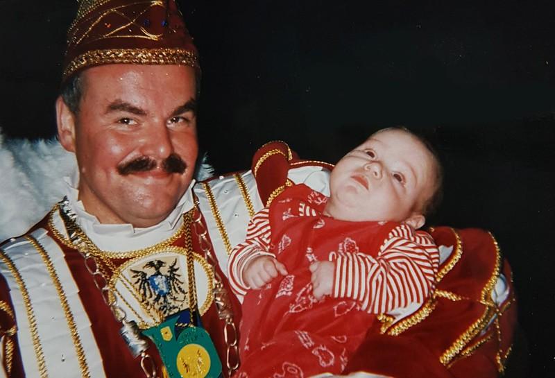 Prins Peter den Eerste met Tim, zoon van Margo en Jan de Groot