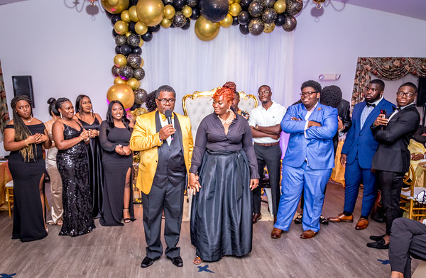 Moses Saygbe's 60th Brithday Party